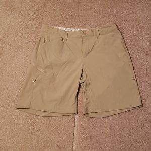 Khaki Orvis Women's Shorts